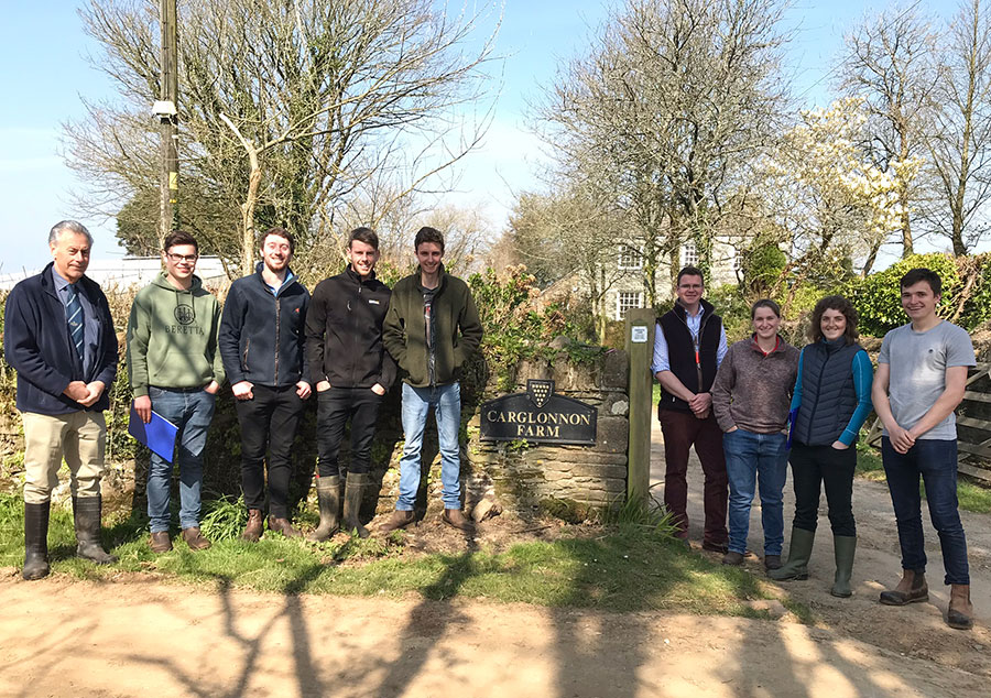 Duchy degree students impress with their farm tenancy applications to the Duchy of Cornwall